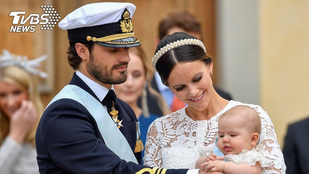 瑞典王子夫妻確診新冠肺炎。(圖/達志影像路透社) 瑞典新冠疫情燒向王室 王子夫妻確診進行隔離