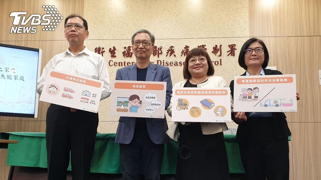 衛福部宣布擴大外籍看護工家庭使用喘息服務。(圖/中央社) 21萬家庭受惠!外籍看護自12月起可申請喘息服務