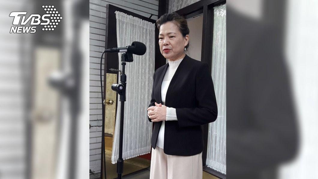 經濟部長王美表示,萊豬增訂貨號是不可行的。(圖/中央社) 在野要求「萊豬列貨號」 王美花:國際無此作法
