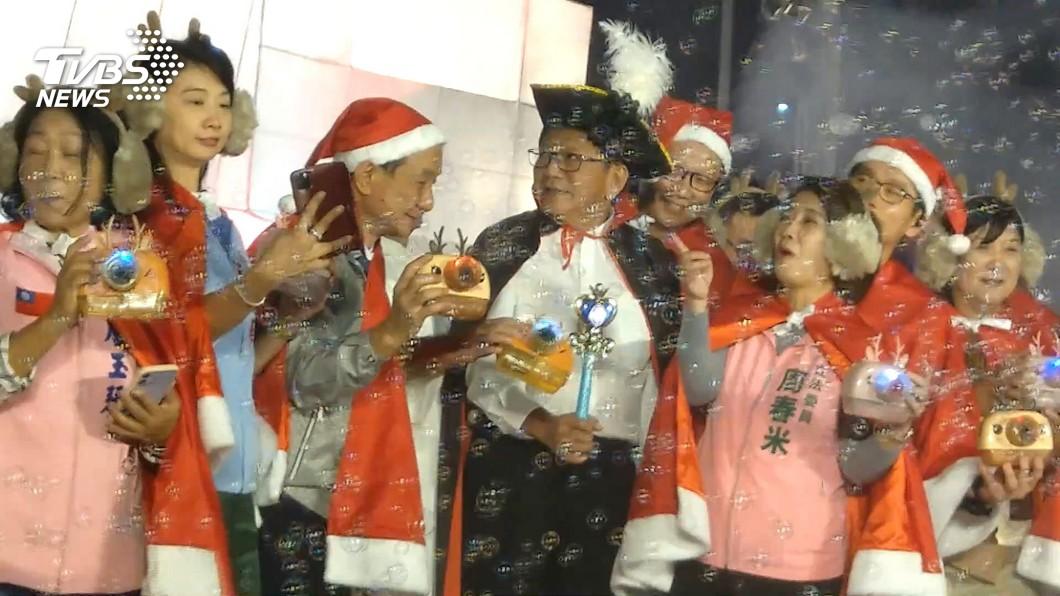 屏東聖誕節活動點燈 「追極光」營造北國風情
