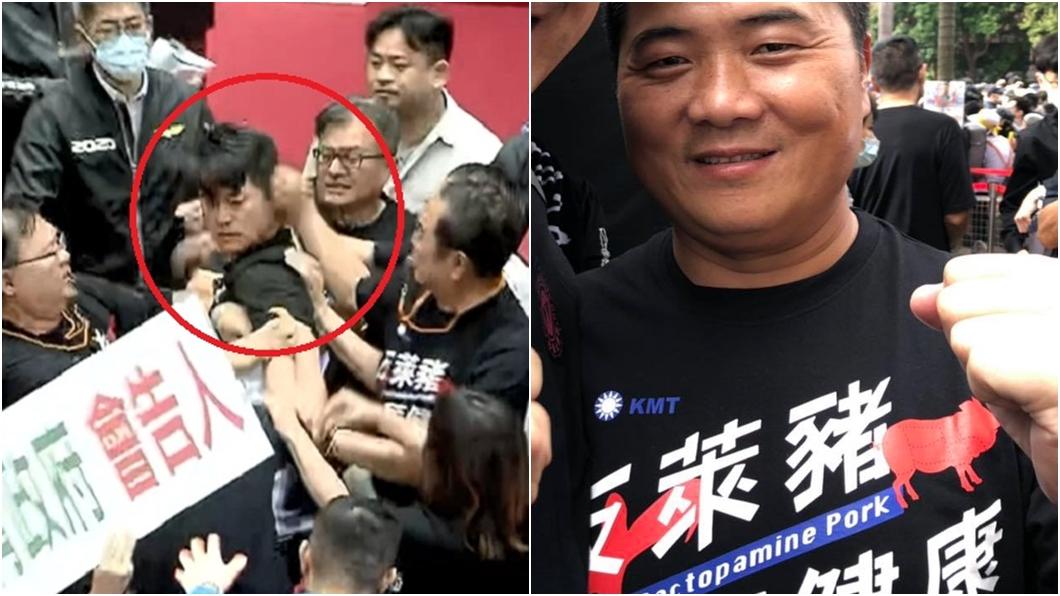(圖/TVBS資料畫面、翻攝自顏寬恒臉書) 貼「27秒關鍵影片」補刀陳柏惟 顏寬恒嗆:打死又如何