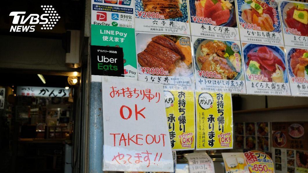 示意圖/shutterstock 達志影像 「吃飯靠APP」 東京用餐流行外帶免接觸