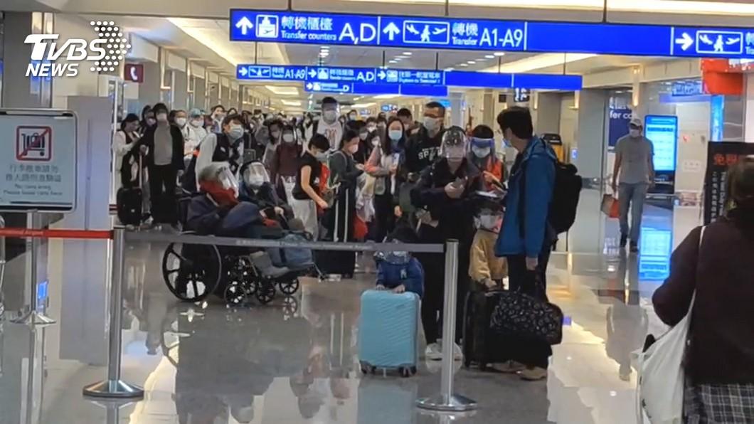 (圖/TVBS資料畫面) 新冠疫情影響 今年來台旅客估不超過100萬人次