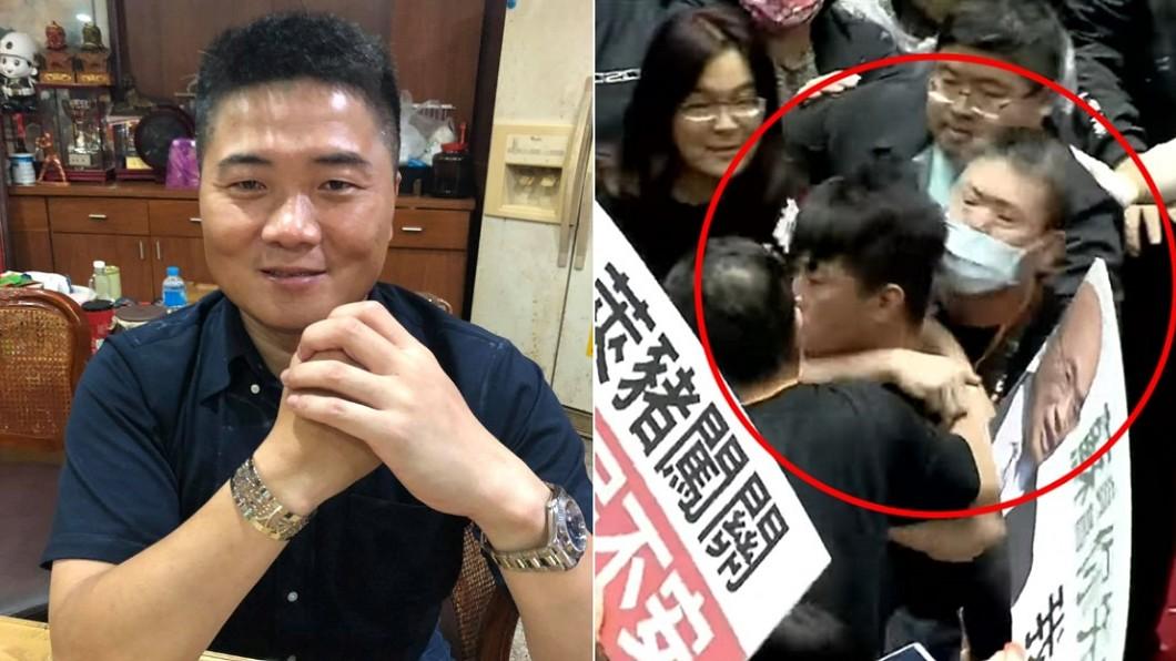 (圖/翻攝自顏寬恒臉書、TVBS資料照) 陳柏惟遭鎖喉再嗆「要打36個」 巧遇坐顏寬恒旁尷尬了