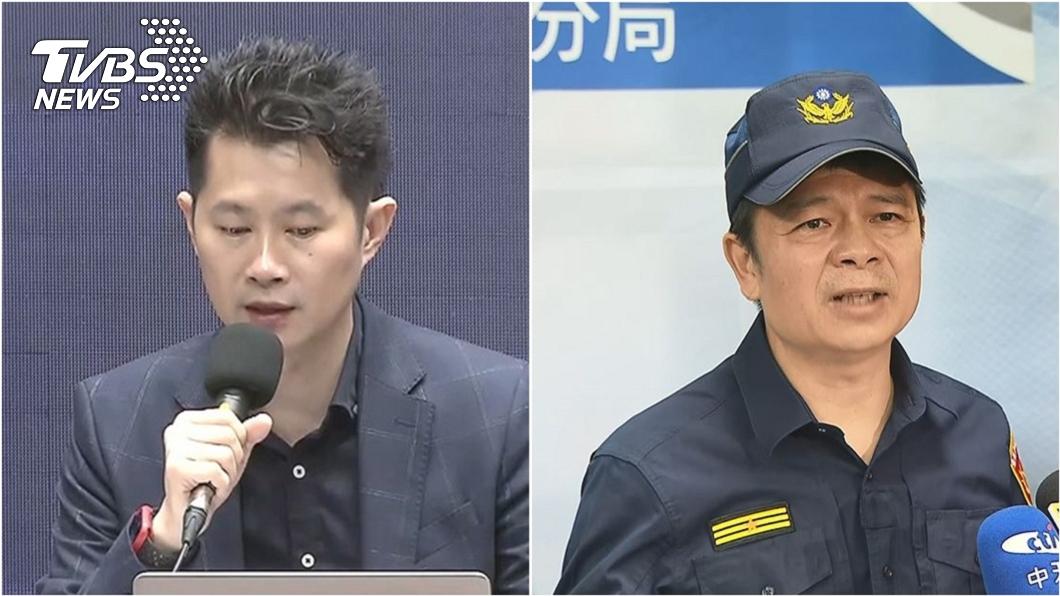 (圖/TVBS資料畫面) 分局長女兒粗話護爸 爆拍警宣傳片「3分鐘2.5萬元」
