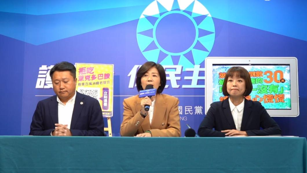 (圖/翻攝自國民黨臉書) 萊豬進口倒數30天 國民黨響應消基會拒吃連署