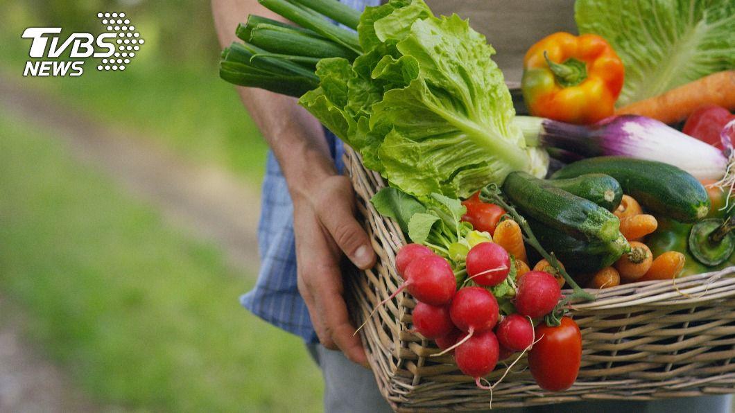青菜與後熟的蔬果放在一起容易變黃、爛掉。(示意圖/shutterstock達志影像) 菜剛買就長斑?香蕉、蘋果如「天然催熟劑」擺一塊易爛