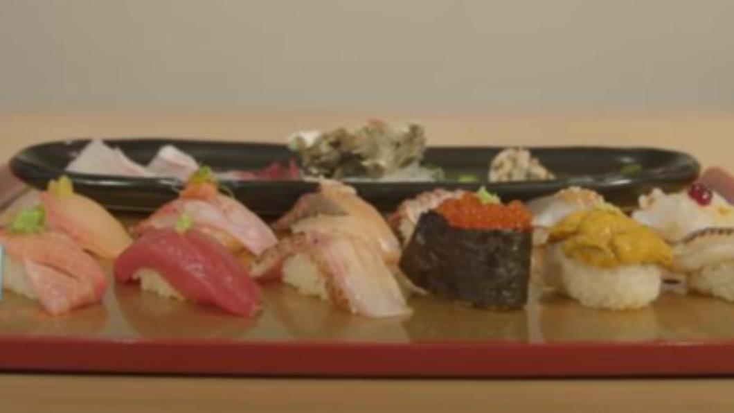 圖/翻攝自Food Insider YouTube 日本鮮魚直送 紐約也有賣正宗江戶前壽司