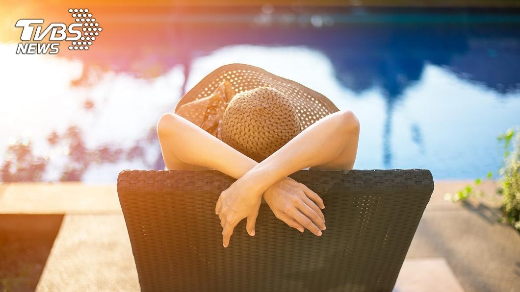非當事人。(示意圖/shutterstock達志影像) 女模裸曬日光浴 遭色警開「8千萬警用直升機」高清狂拍