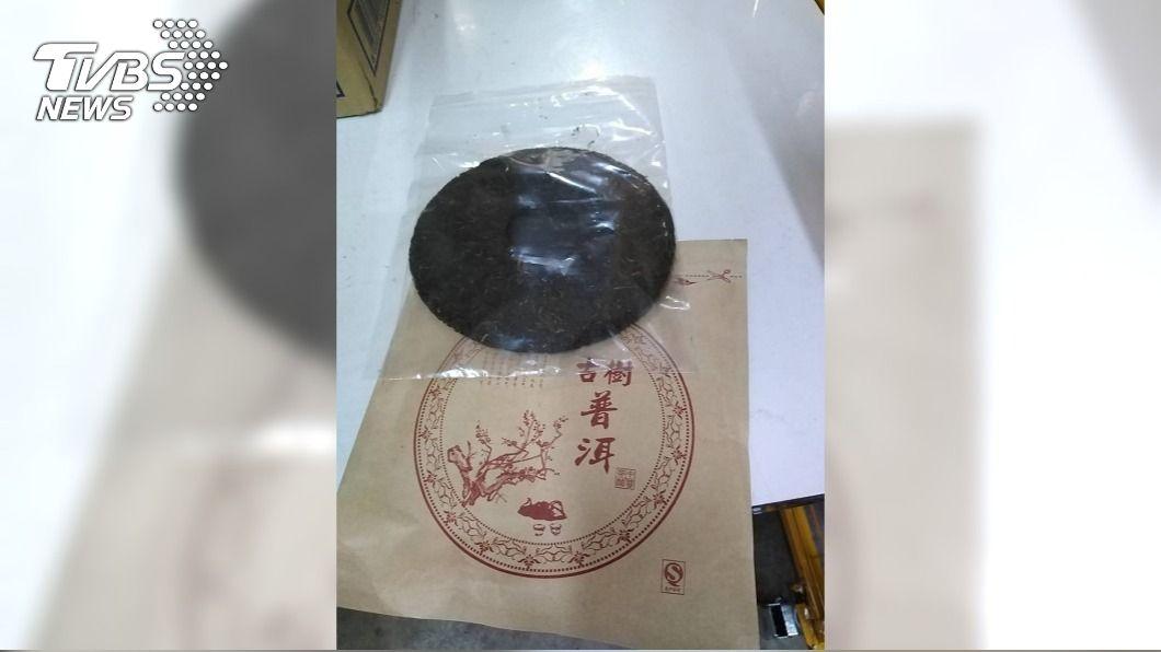 刑事局和泰國警方攜手破獲跨境運毒集團。(圖/中央社) 大麻花偽裝普洱茶餅跨境運毒 台泰警方攜手破獲