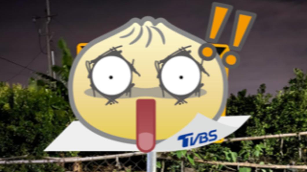 南部一處道路安全方向導引標誌呈現「><」的模樣。(圖/翻攝自「台南爆料公社-台南最大社團」) 過路撞見害羞「><」導引標誌 男傻眼:該往哪開?