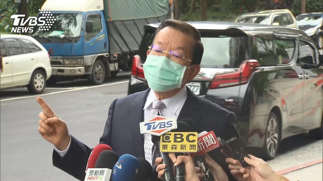 駐日代表謝長廷。(圖/TVBS) 先吃萊豬後吞核食 他諷:不把台灣人毒死不甘願?