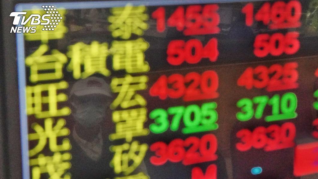 台股開盤大漲。(圖/中央社) 台積電領軍 台股開盤大漲觸及14306點創新高