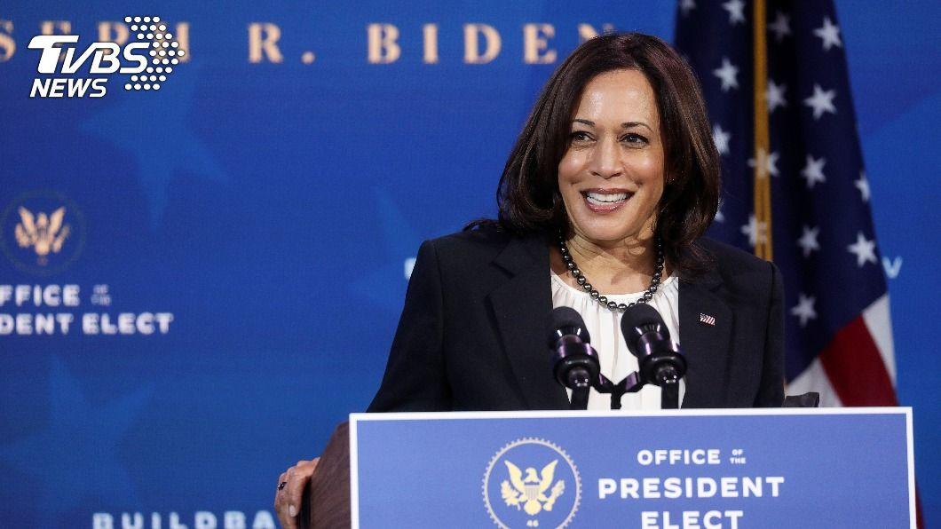 美國首位女性副總統當選人賀錦麗(Kamala Harris)。(圖/達志影像路透社) 從美國選出首位女副總統 性平讓競爭力升級