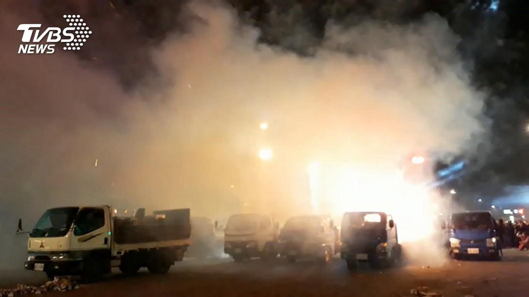 艋舺青山宮因遶境噪音引民怨。(圖/TVBS) 青山宮遶境噪音惹民怨 聲明致歉提3點改善方向