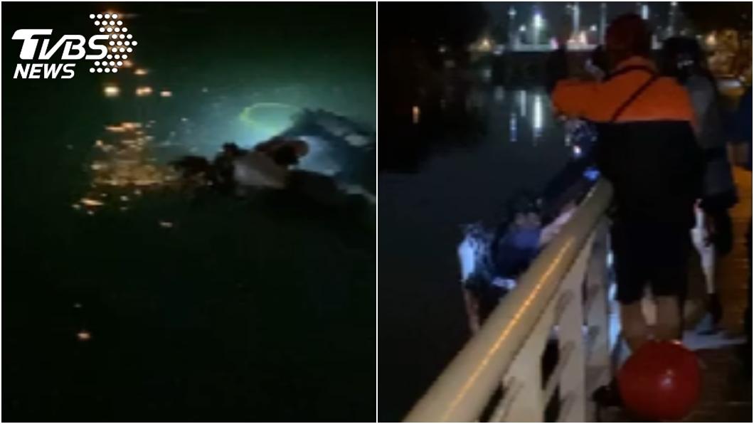 (圖/TVBS資料畫面) 19歲女產嬰「父袋中塞磚丟河」 親戚爆:怕淪街坊笑柄