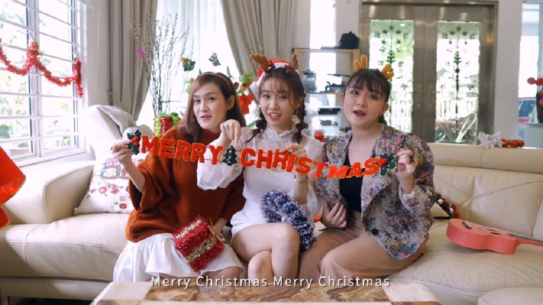 王祖藍、陳威全合譜新歌送溫情聖誕。(圖/翻攝自CUTV YouTube) 歌聲送暖對抗疫情 王祖藍、陳威全合譜新歌獻溫情聖誕