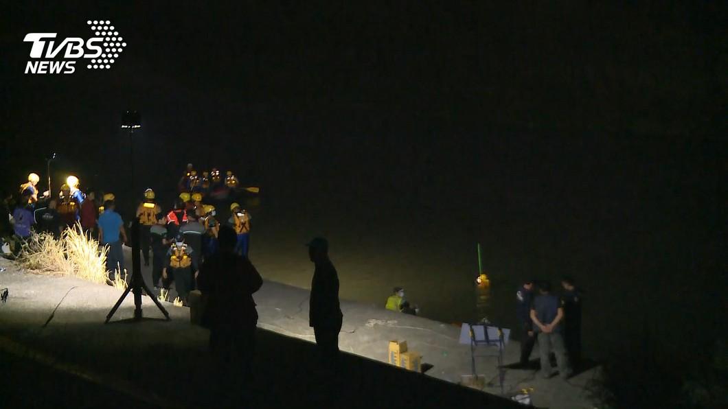 (圖/TVBS資料畫面) 台中貓羅溪釣客落水案 失蹤者尋獲已死亡
