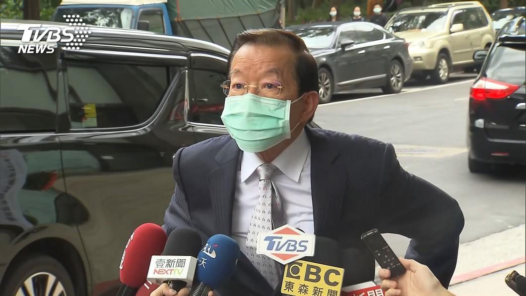 駐日代表謝長廷日前返台述職。(圖/TVBS) 驚爆謝長廷下一步「將接大位」 他曝:為什麼不行?