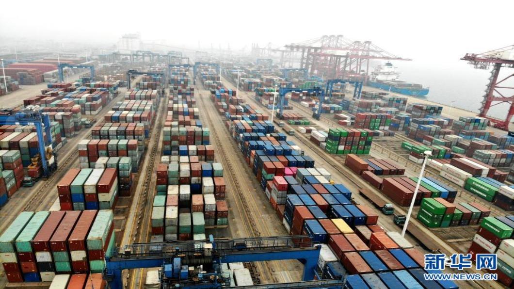 圖/翻攝自 新華網 中國大陸外貿強勁復甦 11月進出口破3兆人民幣