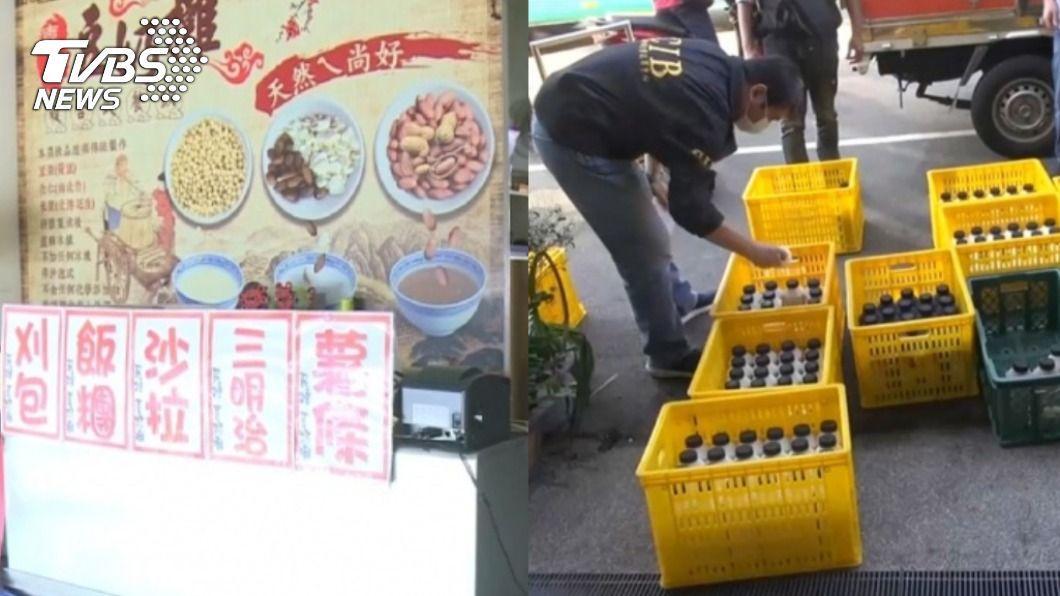(圖/TVBS資料畫面) 孩遭豆奶攤害死「老闆爆非法續賣」 父無奈:幕後有高人