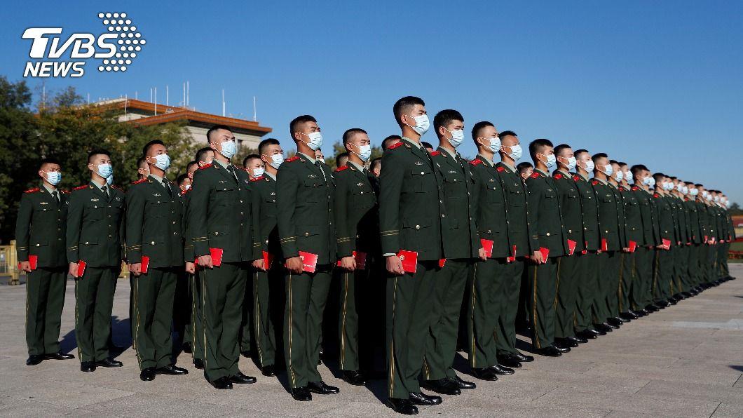 中國經濟強盛後投入大量資源提升軍事實力,試圖在2035年追上美國。(圖/達志影像路透社) 美參聯主席:中國積極強軍欲2035年追上美國