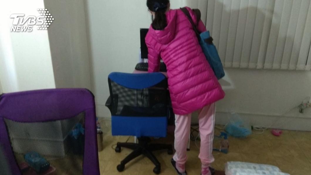 (圖/TVBS) 女子被母親帶走失聯12年 彰縣教育處協助就學