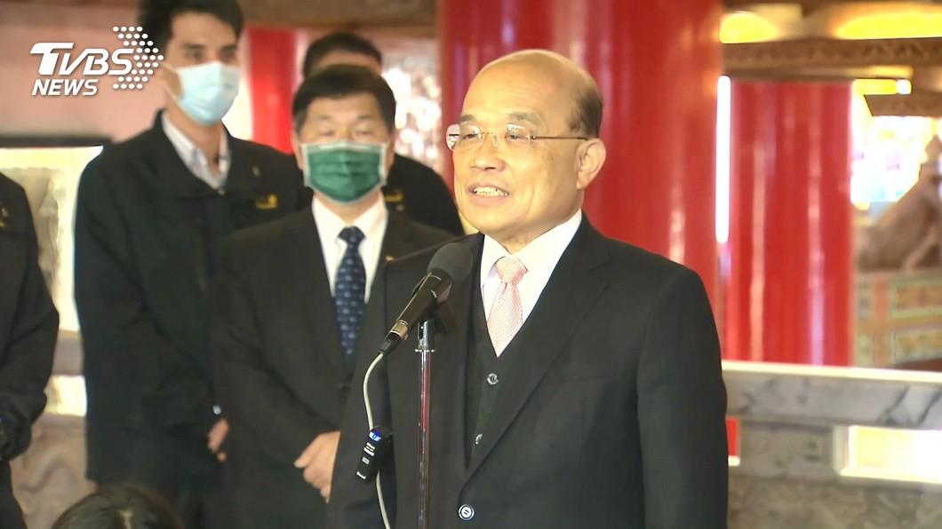 圖/TVBS 快訊/蘇買漫畫打統編?政院:將與商家更換發票
