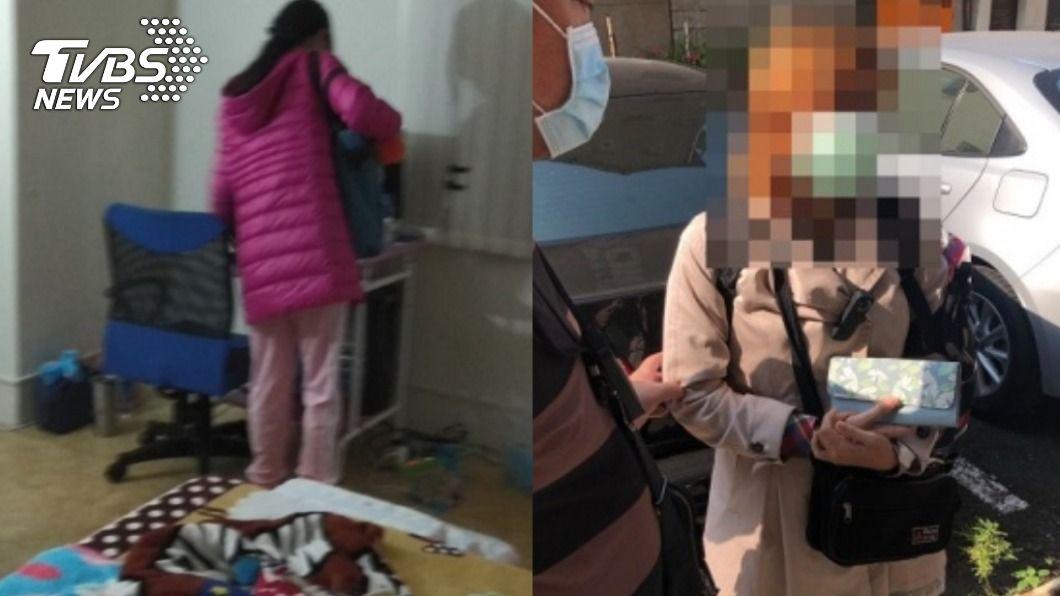 (圖/TVBS、高雄警方提供) 女遭囚12年恐成「狼養大的孩子」 醫憂:缺乏外界刺激