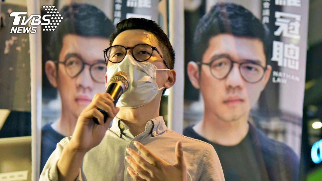 香港民運人士羅冠聰。(圖/達志影像美聯社) 英國內政大臣會羅冠聰 承諾支持港人自由