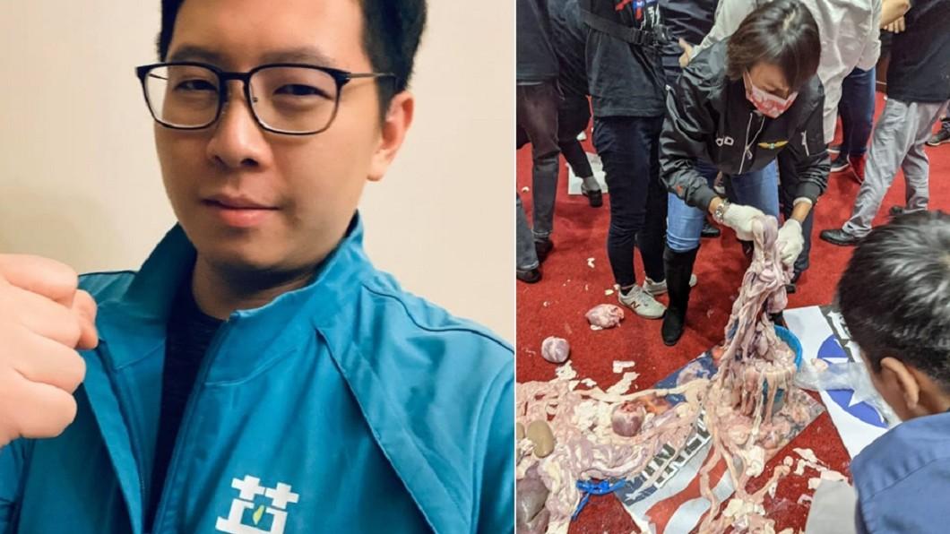 (圖/翻攝自王浩宇臉書) 王浩宇不甩罷免「美牛冷諷原住民」 藍營欲丟雞蛋逼道歉