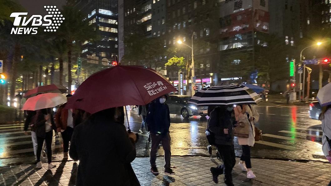 (示意圖/TVBS) 全台冷吱吱「挑戰最冷跨年夜」 下波有感寒冷時間出爐