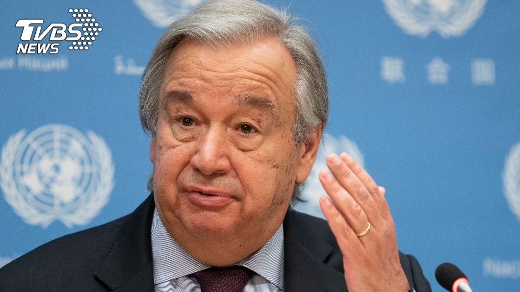 聯合國秘書長古特瑞斯呼籲各國宣布進入「氣候緊急狀態」。(圖/達志影像路透社) 巴黎協定5週年 聯合國籲各國宣布氣候緊急狀態