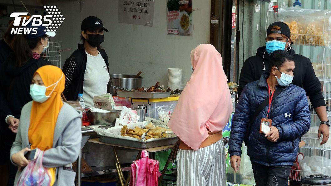 圖為在台印尼移工。(示意圖/中央社) 移工解禁談判 勞動部要求印尼先交實驗室名單