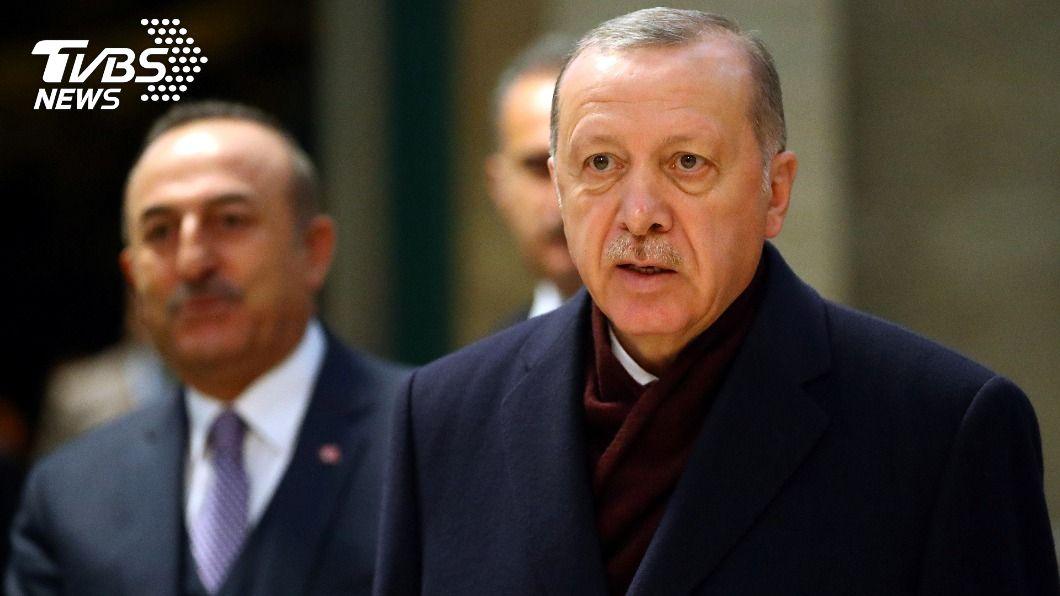 土耳其總統艾爾段。(圖/達志影像路透社) 土耳其疫情嚴峻 總統艾爾段:跨年封鎖80小時