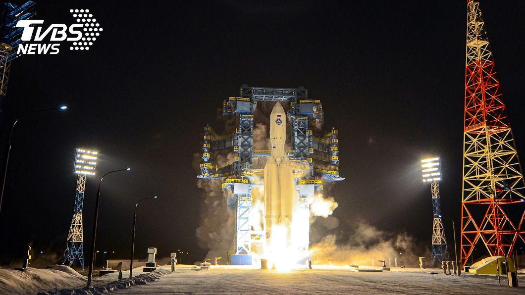 俄國成功發射新型安加拉A5火箭。(圖/達志影像美聯社) 俄羅斯安加拉重型火箭升空 睽違6年再次成功試射