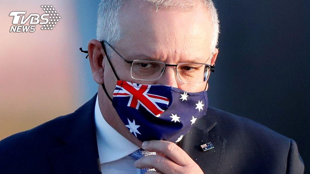 澳洲總理莫里森譴責中國違反WTO規範。(圖/達志影像路透社) 澳洲總理:中國禁澳煤炭若屬實 顯然違反WTO規範