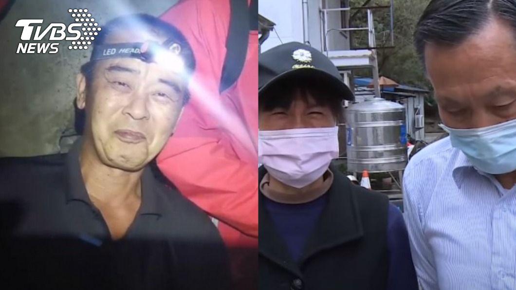 楊姓獵人、邱男家屬。(圖/TVBS) 獵人尋獲失蹤40天男 家屬約「當面奉上」50萬謝恩