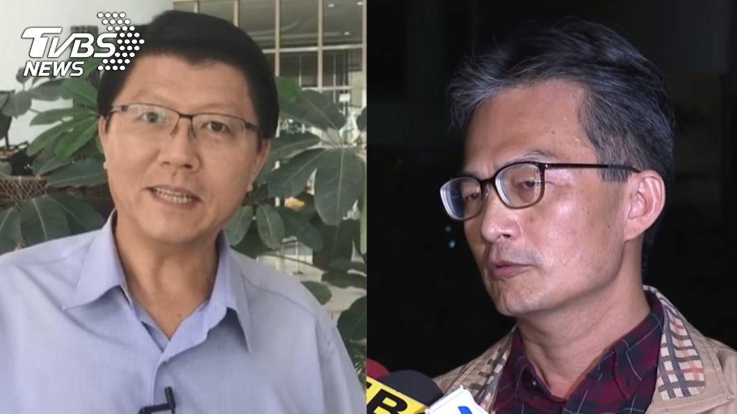 謝龍介替蘇偉碩醫師發聲。(圖/TVBS) 醫反萊豬遭「查水表」 謝龍介轟蔡政府:在怕什麼?