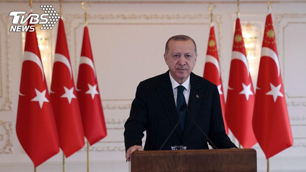 土耳其總統艾爾段。(圖/達志影像美聯社) 不爽美國制裁 艾爾段砲轟:公然襲擊土耳其主權