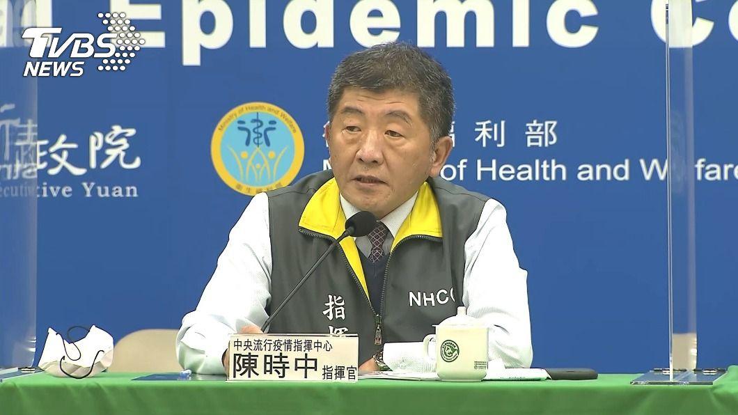 指揮中心指揮官陳時中。(圖/TVBS資料畫面) 相隔8個月再傳「本土案例」 國內確診人數累計達770