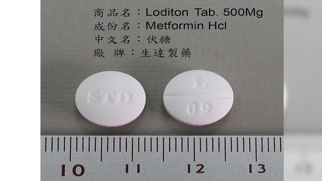 生達伏糖膜衣錠下架回收。(圖/食藥署提供) 生達伏糖膜衣錠包裝內有異物 100萬顆急回收