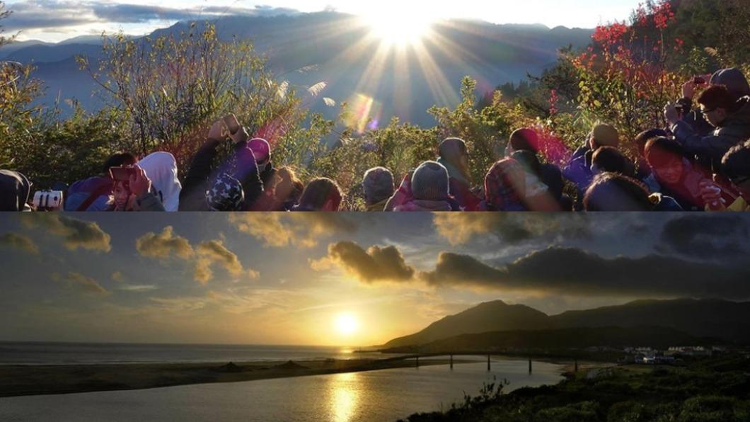 阿里山與福隆海水浴場等地點可迎接跨年第一道曙光。(圖/翻攝自交通部觀光局) 迎接2021第一道曙光 全台11處跨年地點懶人包