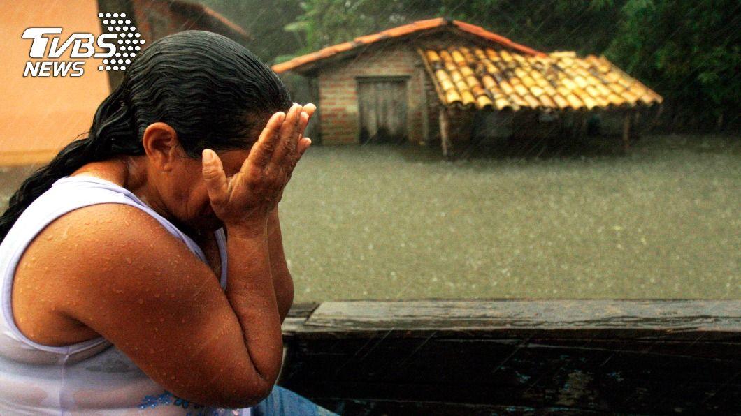 巴西各地遭受暴雨襲擊。(示意圖。圖/達志影像路透社) 災情慘重!巴西南部遭暴雨襲擊 至少12人死亡