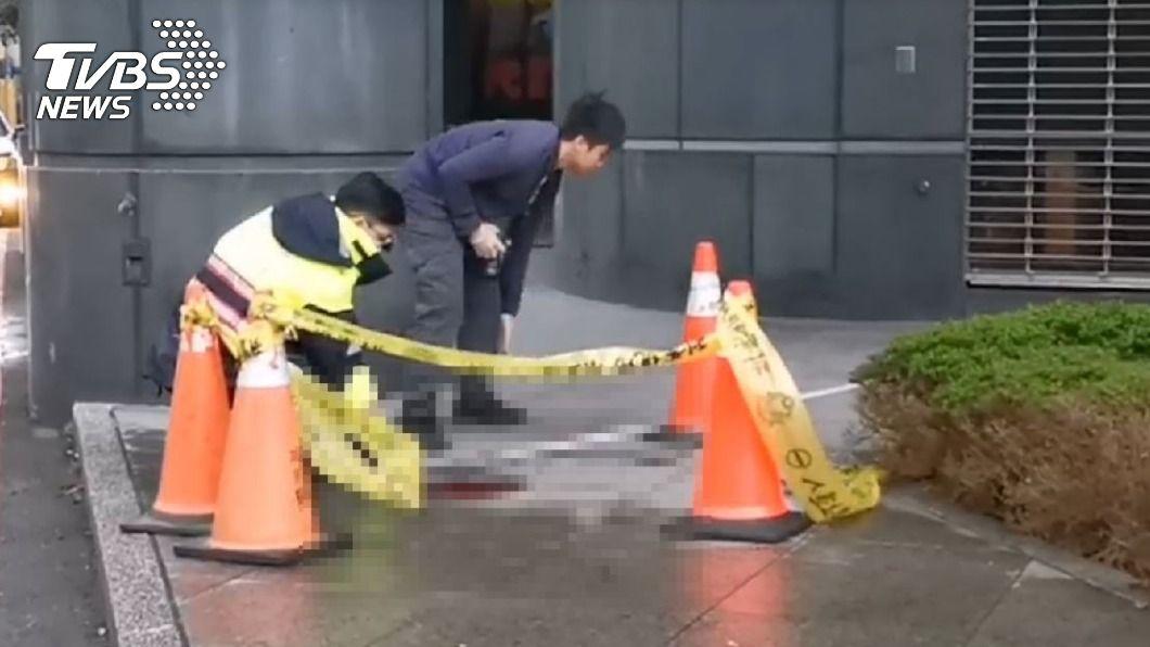 北市女童墜樓送醫不治。(圖/TVBS) 台北市女童自住家墜樓 送醫宣告不治