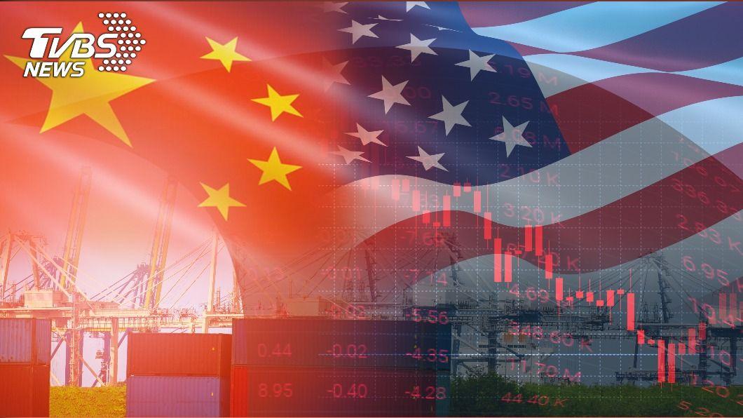 英智庫指出大陸將比預估早5年取代美國成為第一大經濟體。(示意圖/shutterstock達志影像) 經濟體龍頭恐提早易位 英智庫:陸將在2028年超美