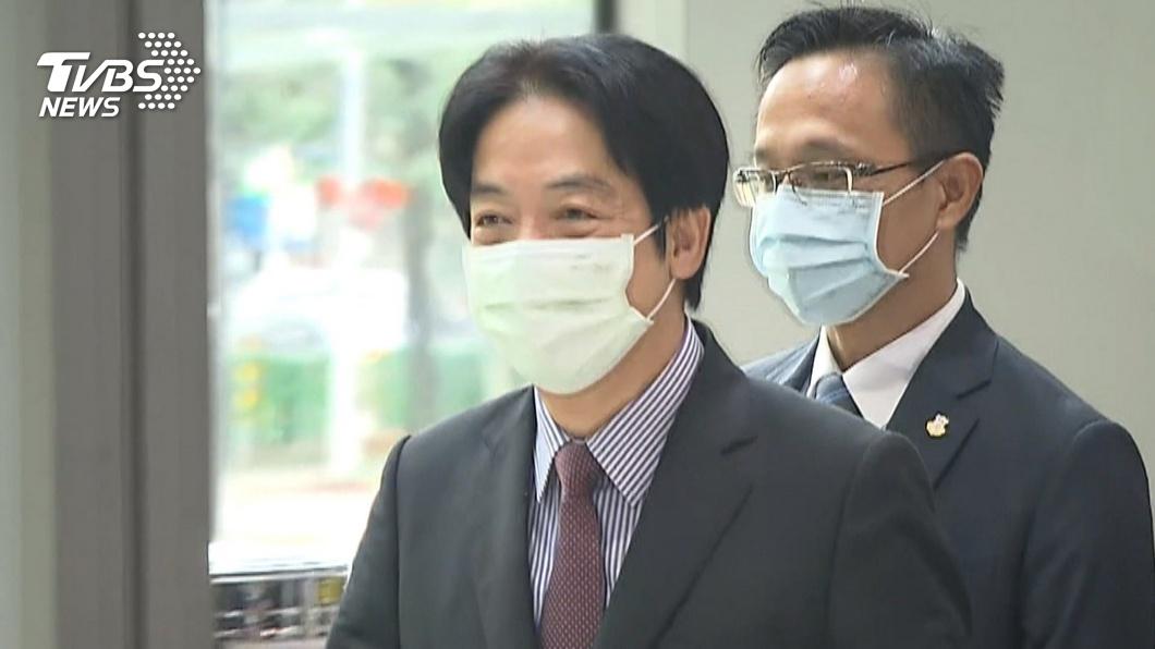副總統賴清德。(圖/TVBS資料畫面) 力挺醫護 賴清德:不該以不當言論打擊防疫士氣