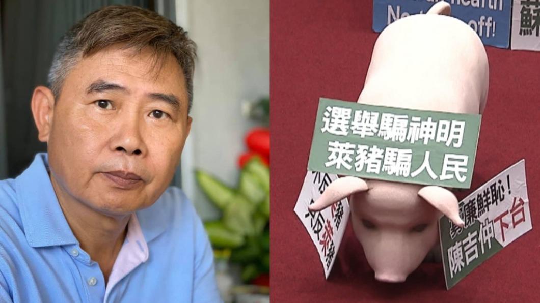 (圖/翻攝自李俊毅臉書、TVBS資料畫面) 前綠委曝民進黨「萊豬戰」要贏很難 沈富雄驚:你完蛋了