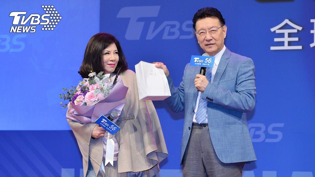 (圖/TVBS) 陳文茜觀察局勢成精!趙少康爆懊悔經驗:沒買她講的股票