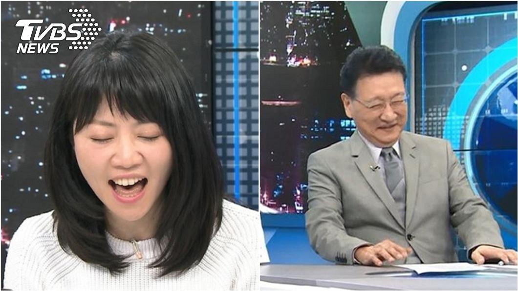 (圖/TVBS) 高嘉瑜飆唱〈煎熬〉眾人表情全垮 趙少康笑:要唱折磨?